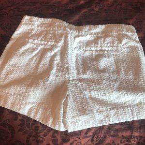 Banana Republic Shorts - Banana Republic Hampton Fit White Shorts